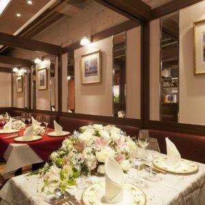 池袋の三ツ星級イタリアン 金のイタリアンの宴会パーティ席