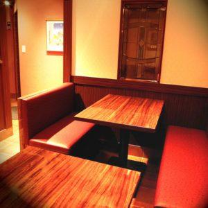 金のイタリアンの席・個室