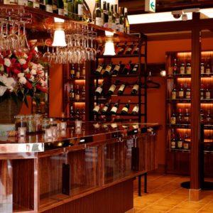 池袋の三ツ星級イタリアン 金のイタリアンのワイン