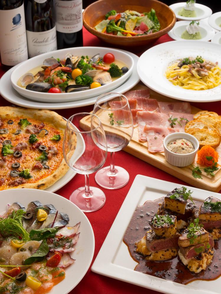 池袋でアクアパッツァが食べられるイタリアンなら「金のイタリアン 池袋店」